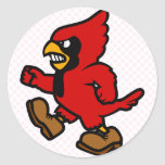 Carl Cardinal Round Sticker