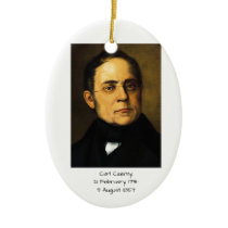 Carl Czerny Ceramic Ornament