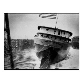 Carl D Bradley Postcard