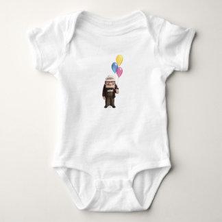 Carl de Disney Pixar ENCIMA de la tenencia de la Body Para Bebé