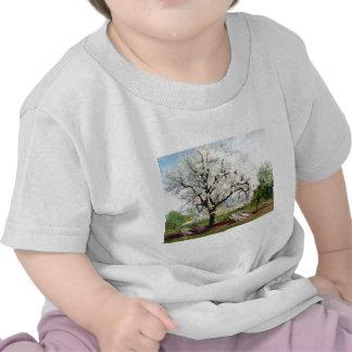Carl Fredrik Hill Flowering Fruit Tree T-shirts