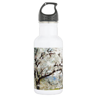 Carl Fredrik Hill Flowering Fruit Tree Water Bottle