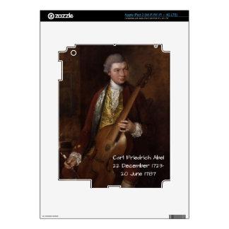 Carl Friedrich Abel Skin For iPad 3