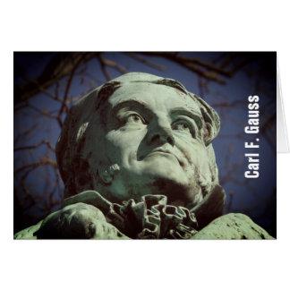 Carl Friedrich Gauss 2.8.F.T (Gauss), Braunschweig Card