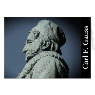 Carl Friedrich Gauss (Gauss)1.3.2.F, Braunschweig Card