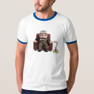 Carl from Disney Pixar UP - Sitting T-Shirt