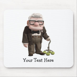 Carl from the Disney Pixar UP Movie 2 Mouse Pad