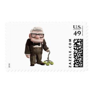 Carl from the Disney Pixar UP Movie 2 Postage