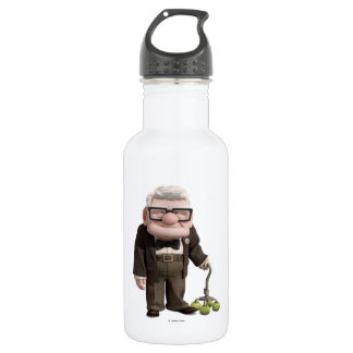Carl from the Disney Pixar UP Movie 2 Water Bottle