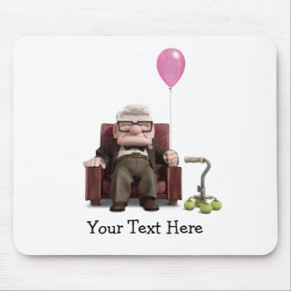 Carl from the Disney Pixar UP Movie Mouse Pad