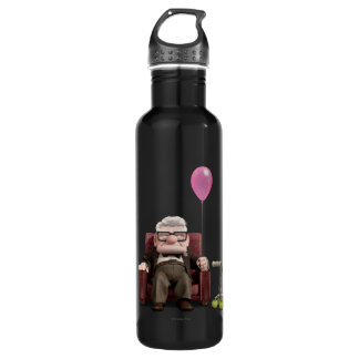 Carl from the Disney Pixar UP Movie Water Bottle