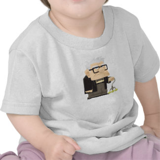 Carl from the UP Movie - concept art Tshirts