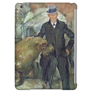 Carl Hagenbeck en su Zoo, 1911
