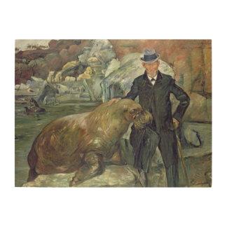 Carl Hagenbeck en su Zoo 1911