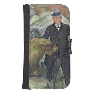 Carl Hagenbeck en su Zoo, 1911 Billetera Para Galaxy S4