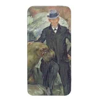 Carl Hagenbeck en su Zoo, 1911 Funda Acolchada Para iPhone