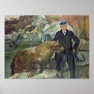 Carl Hagenbeck en su Zoo 1911 Impresiones