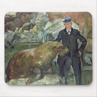 Carl Hagenbeck  in His Zoo, 1911 Mouse Pad