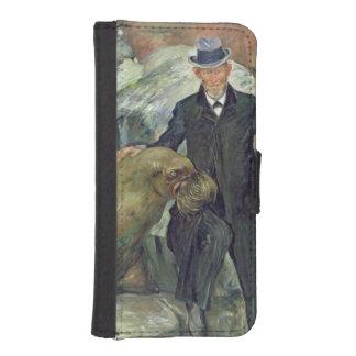 Carl Hagenbeck  in His Zoo, 1911 iPhone 5 Wallet Cases