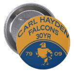 Carl Hayden 1 botón Pin