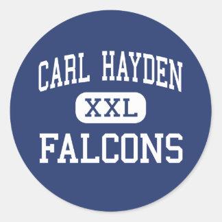 Carl Hayden - Falcons - Community - Phoenix Round Sticker