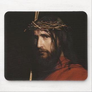 Carl Heinrich Bloch - Christ (Detail) Mouse Pad