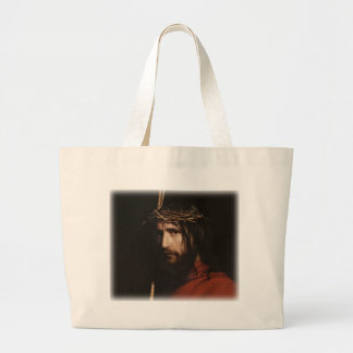 Carl Heinrich Bloch - Cristo (detalle) Bolsa Lienzo
