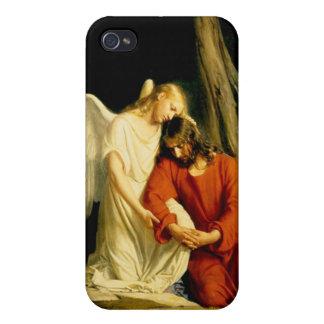 Carl Heinrich Bloch - Gethsemane iPhone 4 Carcasas