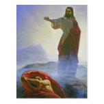 Carl Heinrich Bloch - Jesus Tempted GC Postcards