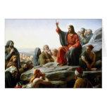Carl Heinrich Bloch - sermón de la montaña Felicitacion
