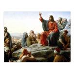 Carl Heinrich Bloch - sermón de la montaña Tarjetas Postales