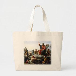 Carl Heinrich Bloch - Sermon on the Mount Canvas Bag