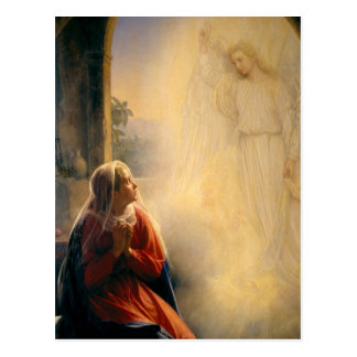 Carl Heinrich Bloch - The Annunciation Postcard