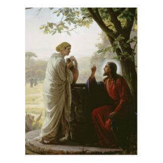 Carl Heinrich Bloch - Woman at the Well Postcard