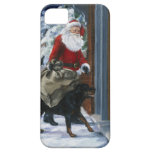 Carl Helping Santa Claus from <Carl's Christmas> b iPhone 5 Case