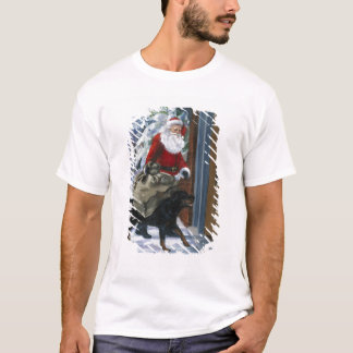 Carl Helping Santa Claus from <Carl's Christmas> b T-Shirt