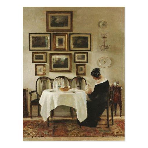 Carl Holsøe Mother and child CC0570 Postcard