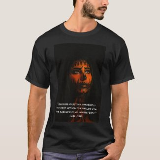 Carl Jung on Darkness in One's Self T-Shirt