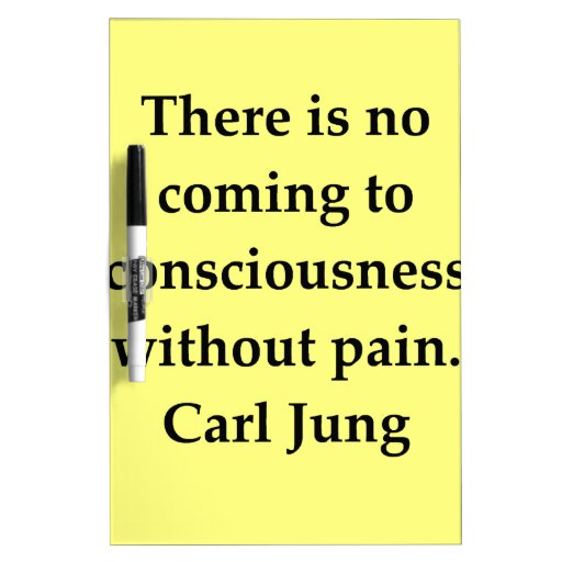 carl jung quote Dry-Erase board