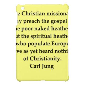 carl jung quote iPad mini cover