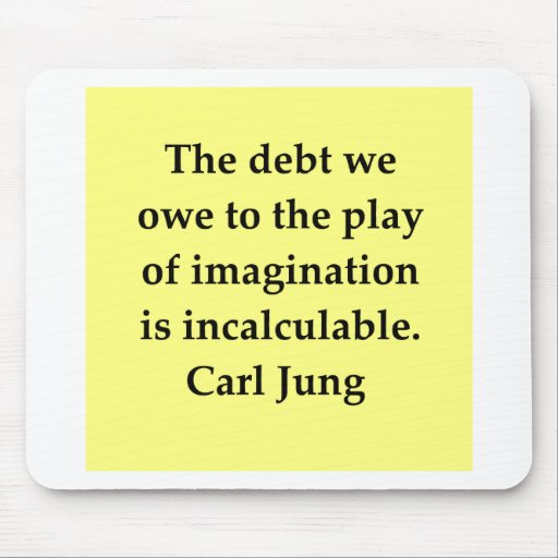 carl jung quote mouse pad