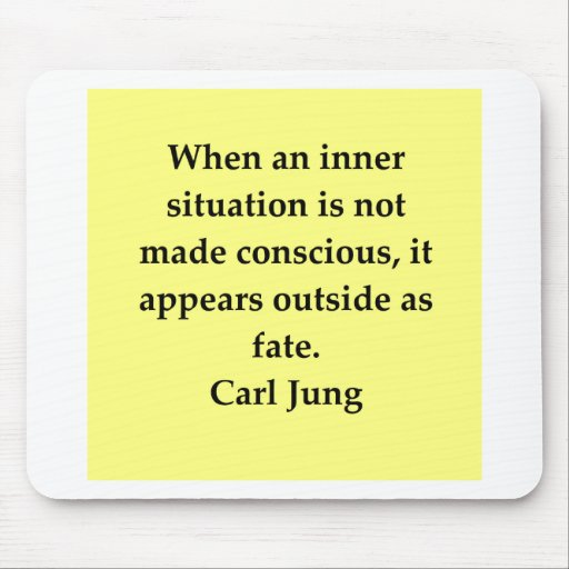 carl jung quote mousepad