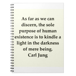 carl jung quote notebook