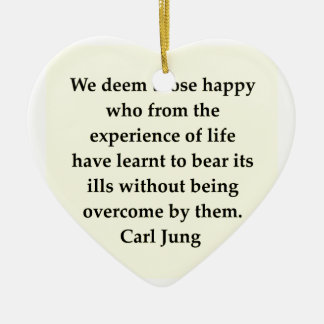 carl jung quote christmas tree ornaments