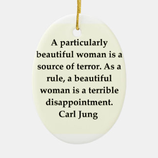 carl jung quote christmas tree ornament