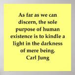 carl jung quote print