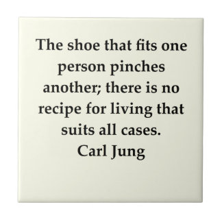 carl jung quote tile
