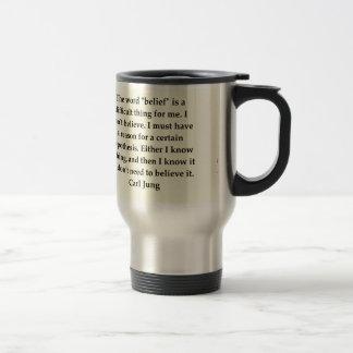 carl jung quote travel mug