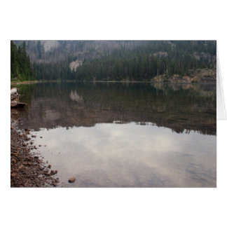 Carl Lake Oregon Card