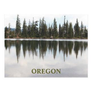 Carl Lake Oregon Postcard